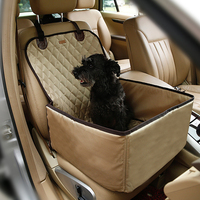2016 On Sale New 50X60x35cm Pet Car Carriers Dog Car Seat Cat Carry Cover Oxford Fabric