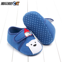 2019 Cute Baby Shoes Newborn Toddler Baby Boy Girl Crib Shoes Cartoon Animal Soft Sole Non-slip Infant First Walkers Shoes цена