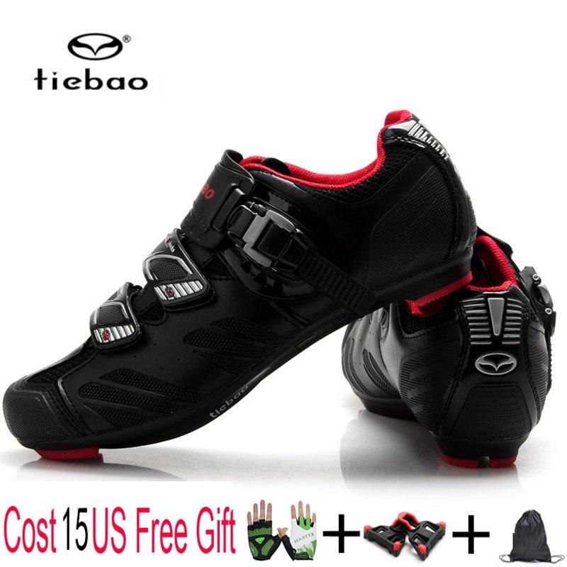 Teibao велосипедная обувь дорожный велосипед велосипедная обувь дышащая Pro самоблокирующиеся сверхлегкие Спортивные Гонки кроссовки Zapatos Ciclismo