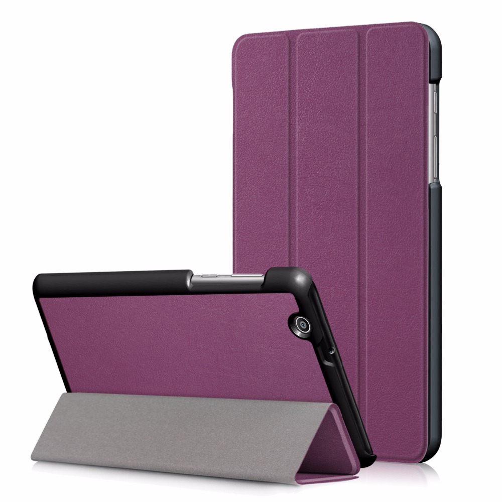 New Arrival Case for 2017 Huawei MediaPad T3 7 3G BG2-U01 Tablet Smart Magnet Funda Protective Stand Cover + Gift