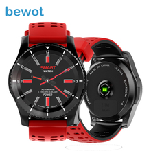 Bewot Sports Smart Watch Bluetooth 4.0 SIM Card Call SMS Reminder Heart Rate Blood pressure Monitor Pedometer Smartwatch