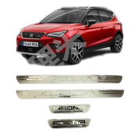 Suitable For SEAT ARONA Stainless Steel Scuff Plate Door Sill Cover Trim Car Accessories