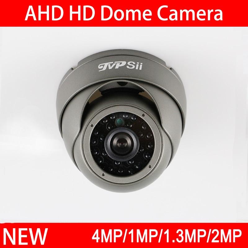 bilder für 4 stücke Viel 24 Stücke Infrarot-leds 4MP/2MP/1.3MP/1MP Weiß/Grau Metall Outdoor Dome AHD Überwachungskamera Kostenloser Versand