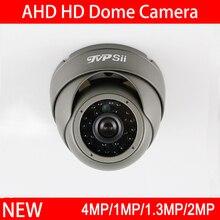 Шт. 4 шт. сумка Серый Металл Инфракрасные светодиоды 5mp/4mp/2mp/1.3mp/1mp открытый купольные формы полусфера AHD CCTV камеры скрытого видеонаблюдения Бесплатная доставка