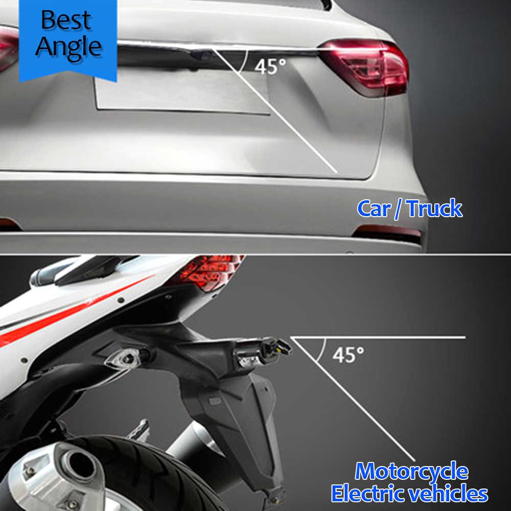 Colisão Anti-extremidade Traseira Do Carro Luz de Nevoeiro Da Cauda Do Laser Vermelho Linha de Criação de Auto Lâmpada de Freio de Estacionamento Luz de Advertência do Carro estilo Novo Padrão