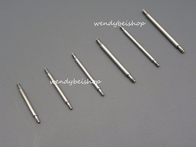 20pcs per set 20mm width 1.8mm Diameter stainless steel watch band spring bars pins link tools double flanges accessories