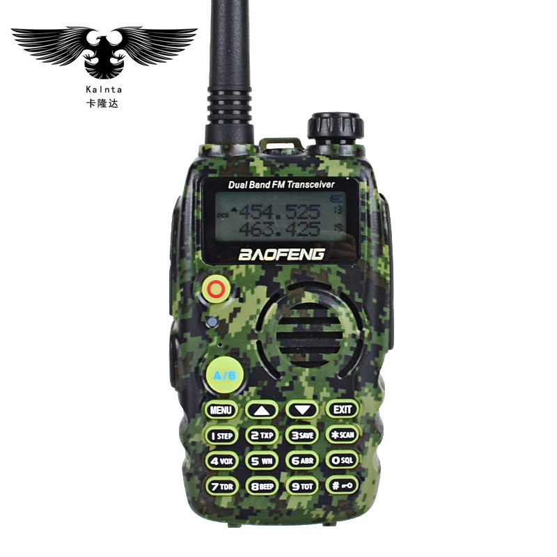 Walkie Talkie Hot Sale Bf-uv6r Walkie-talkie Civil Hand-operated Radio Talkie 5w Hotel Construction Site Self Drive Tour Multi-purpose Goods Of Every Description Are Available