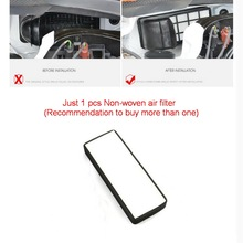 1 шт. Новый нетканый стиль Автомобиля Специальный Внешний воздушный фильтр очиститель Чехол Наклейка Для Volkswagen POLO Хэтчбек Jetta 2011-16
