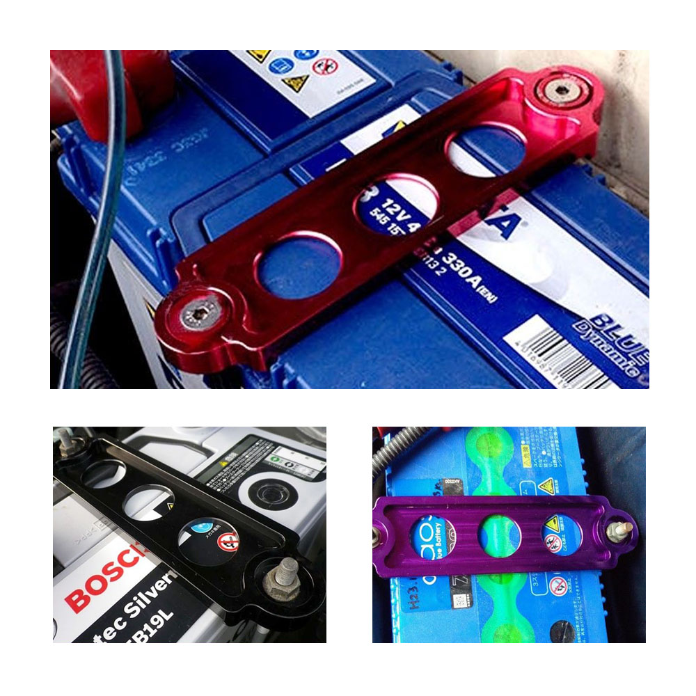 RASTP JDM Style Car Battery Tie Down Fit for Civic CRX 88 00 S2000 For Integra Car Accessories RS BTD001