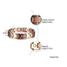 Pulseira Magnética Bio Energética de Cobre – Pulseira do Equilíbrio
