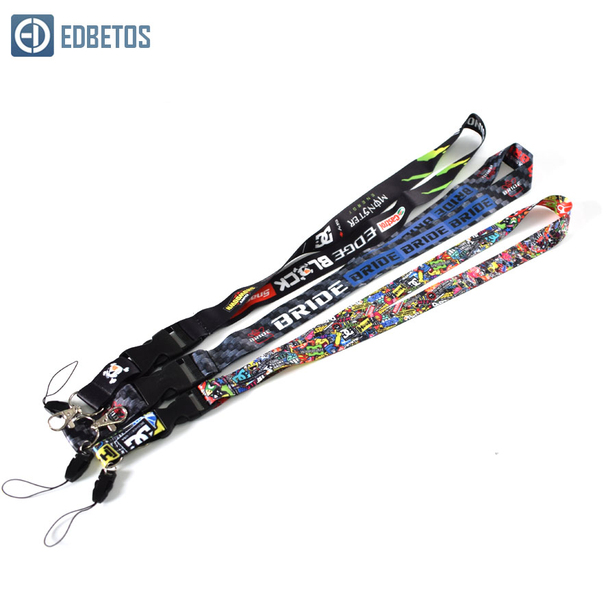 JDM Lanyard Key-Ring Nos Keychain Neck-Straps Graffiti Shocker MONSTER HOONIGAN For W/ill
