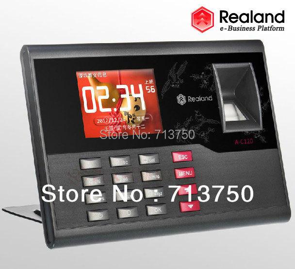 Realand BIZ Fingerprint Time attendance Recorder Recording Clock System TFT TCP/IP Color Screen Proximity Card