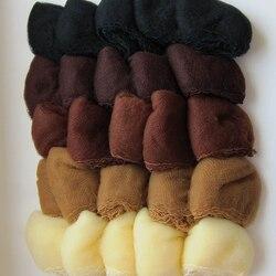 Нейлоновая сеть для волос, 500 шт., 5 мм, невидимая одноразовая сеть для волос, 20 дюймов, 5 цветов, смешанный черный, темно-коричневый, коричневый...