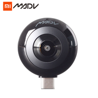 Xiaomi MADV Mini 13MP CMOS Sensor 360 Degree Panorama Camera VR for Huawei Android Smart Mobile Poco Phone Pocophone F1 Type C