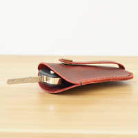 Handmade Retro Genuine Leather Key Wallet Housekeeper Keychain Covers Key Case Bag Men Key Holder Keys Organ