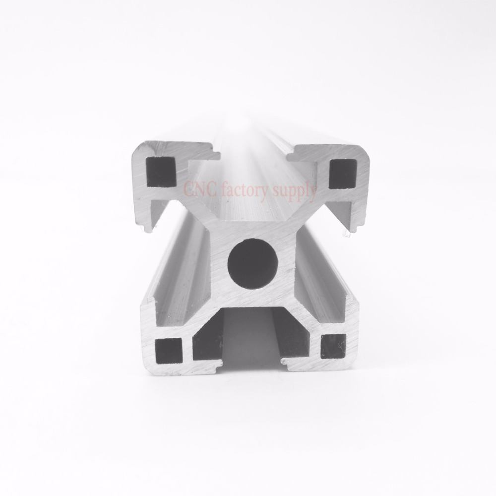 HOT Sale CNC 3D Printer Parts European Standard Anodized Linear Rail Aluminum Profile Extrusion 3030 for DIY 3D printer aluminum steel cnc machining service parts milling machined anodized aluminum parts rapid prototype