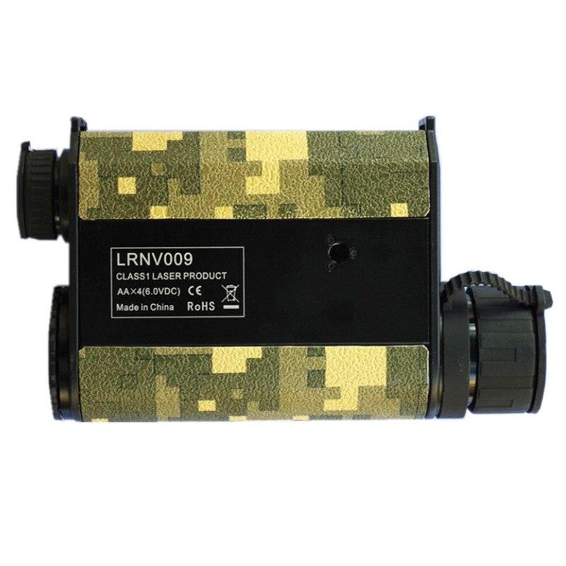 Infravörös lézeres éjjellátó távmérő 6X nagyító távcső - Mérőműszerek - Fénykép 4
