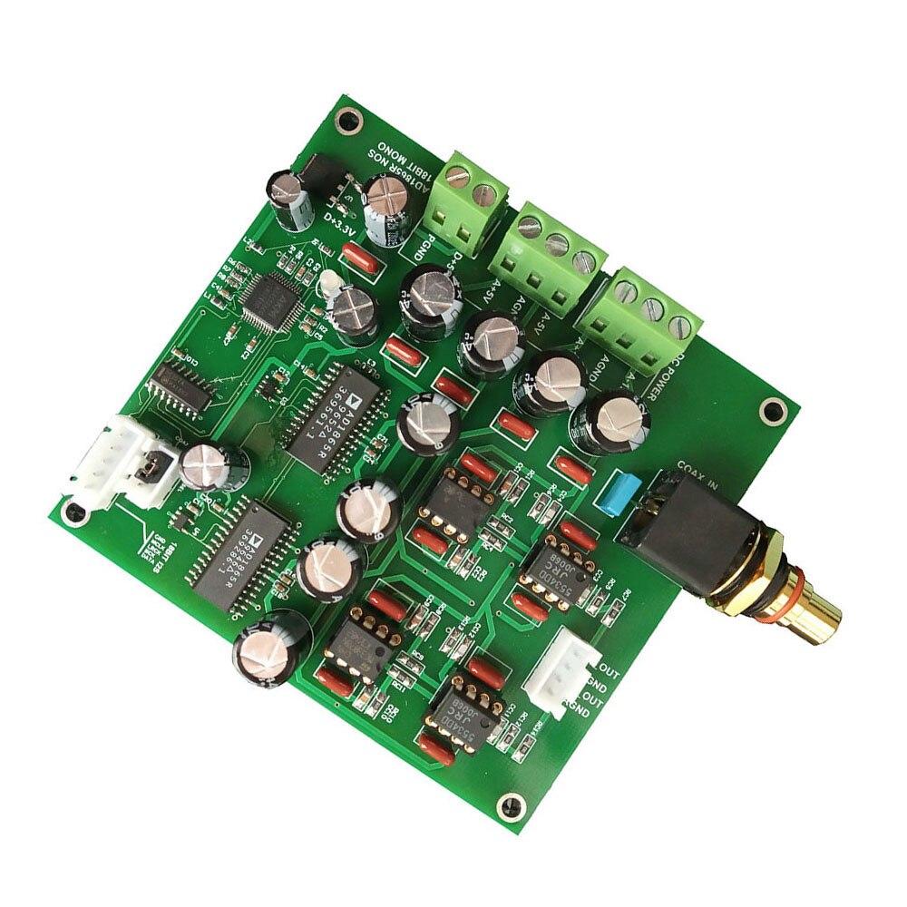 Carte de décodage R2R DAC AD1865R NOS carte de décodage Audio DAC DC 15 V livraison gratuite