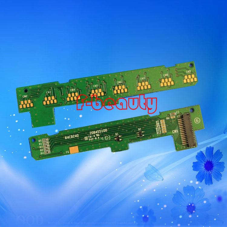 High quality original cartridge chip detection board for EPSON R1800 R2400 1800 2400 Chip contact plate high quality original renew cartridge chip detection board for epson r290 r270 r390 t60 me1100 t50 chip contact plate