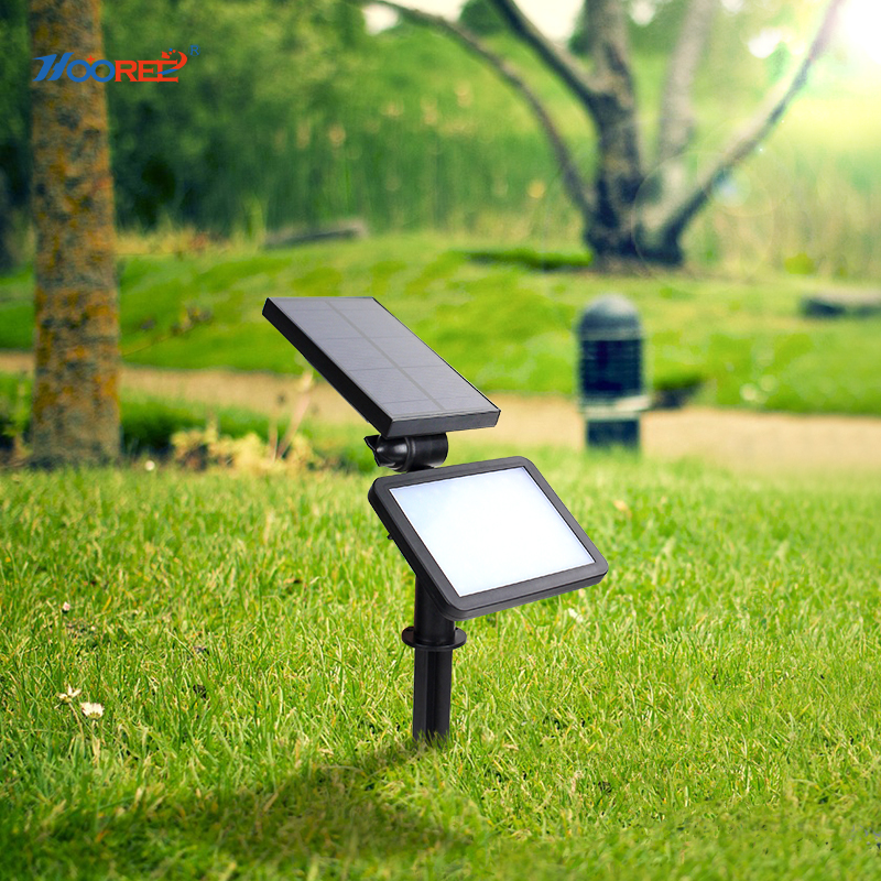Hooree 48 led solar light for garden waterproof ip65 solar - Luz solar exterior ...