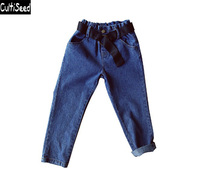 Cultiseed Girls Jeans Pants 2019 Children Pant for Baby Girls Trousers Kids Child Casual Pants Blue Denim Jeans Girls Pants