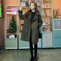 Spring Maternity Coat  Maternity Clothing jacket trench Women Maternity outerwear maternity clothes  Pregnant coat Warm coat
