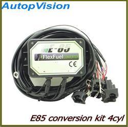 E85 ombouwset 4cyl met Koude Start Asst. biobrandstof e85, ethanol auto, bioethanol converter