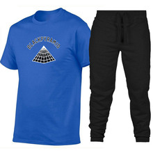 93718fe81dc Hot 2019 Fashion BLACK PYRAMID Men T-Shirt Hip Hop Chris Brown PYRAMID T-