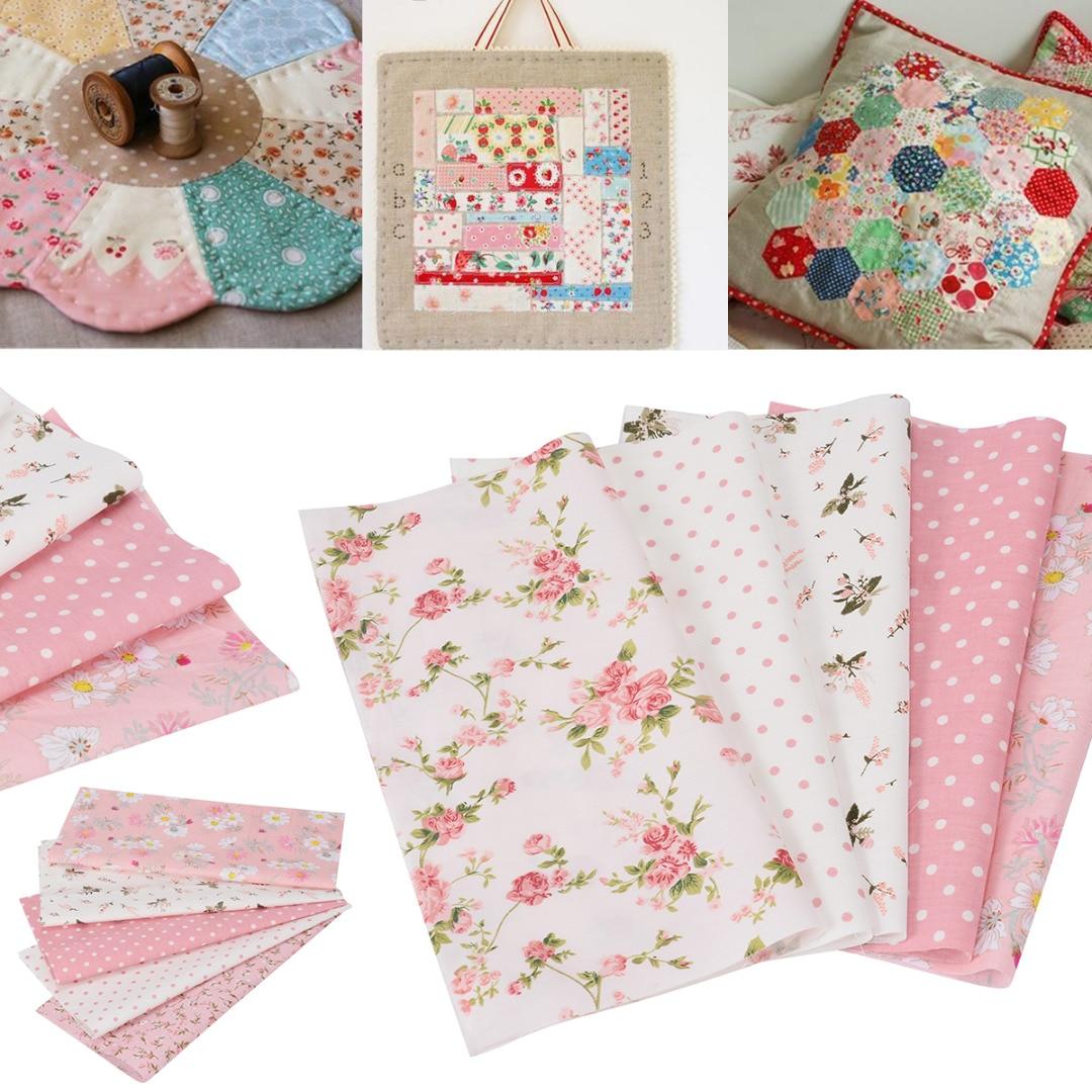 Line Dash 100/% Cotton Luna Printed Fabric Backing Material Sew Craft Dressmaking