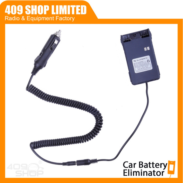 Wakie Talkie Two way Radio Car Battery Eliminator for TG-4AT