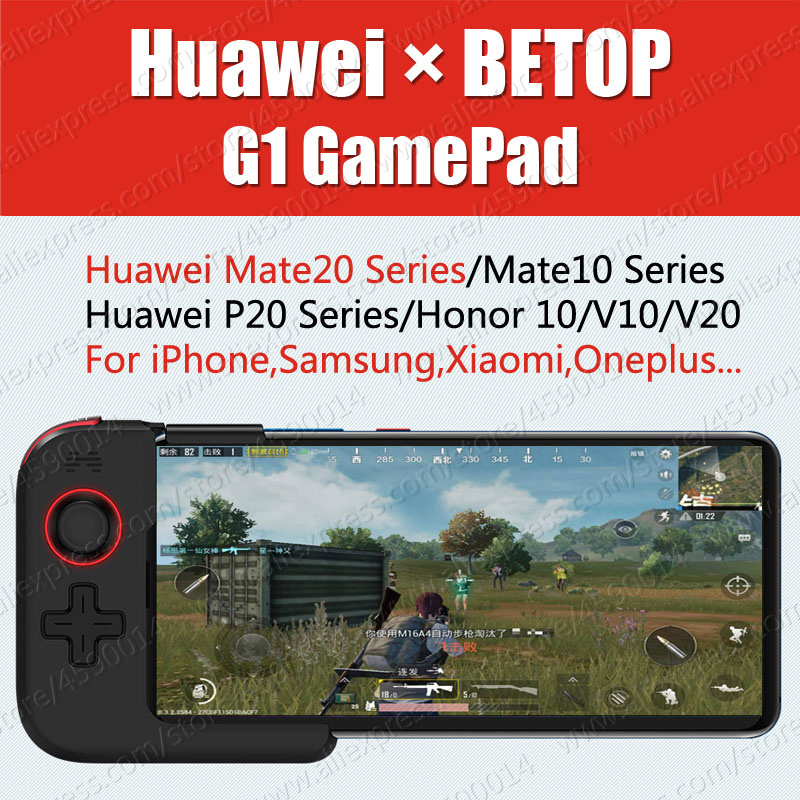 BETOP G1 400 mAh Design pour Huawei P30 Pro Mate 20 Pro boîtier GamePad Mate20 X Pro Joystick P20 Honor 10 V20 nordique Bluetooth 5.0