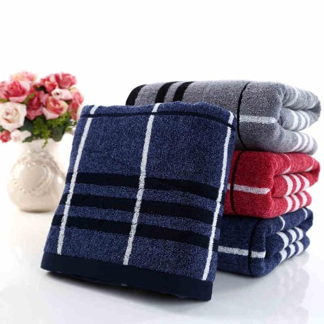 Men Cotton Bath Towel Fabric Mens Toweling Large Women Face Towel ...