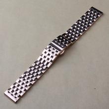 20mm 22mm de metal de acero Inoxidable de oro Rosa correa de pulseras de Reloj de La Correa de oro Rosa Mariposa Hebilla herramientas Gratuitas para un crecimiento inteligente