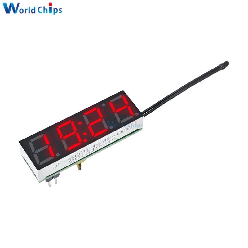 Rot 3 in 1 LED DS3231SN Digitaluhr Spannung Temperaturmodul DIY Elektronik