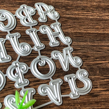 Capital Alphabet Letter Metal Cutting Dies for Card Making