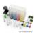 Sistema de suministro continuo de tinta kit universal 4 color ciss vacíos con accessaries depósito de tinta para hp impresoras de tinta bombeo drill carpeta