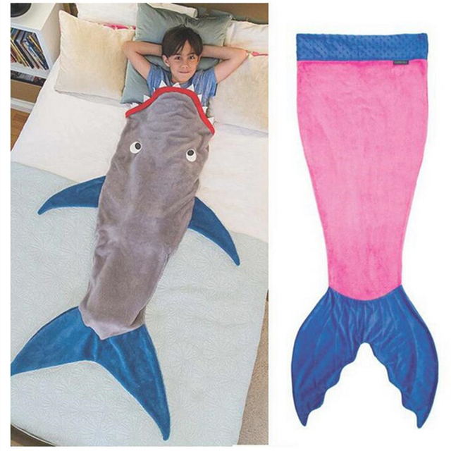 New Cute Mermaid Children Baby Blanket Inflant Cartoon Game Play Mats Carpet Child Toy Climb Mat Indoor Summer Gift For Kid Top