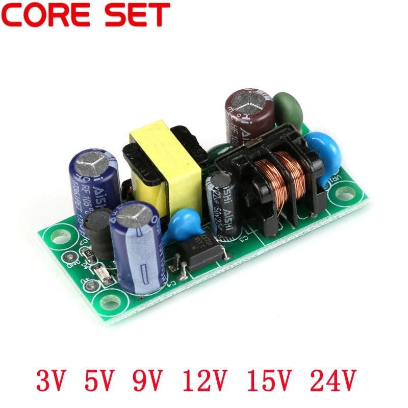 AC-DC 스위칭 전원 공급 장치 보드 절연 스위치 스텝 다운 모듈 ac 110 v 220v ~ dc 3.3 v 5 v 9 v 12 v 15 v 24 v