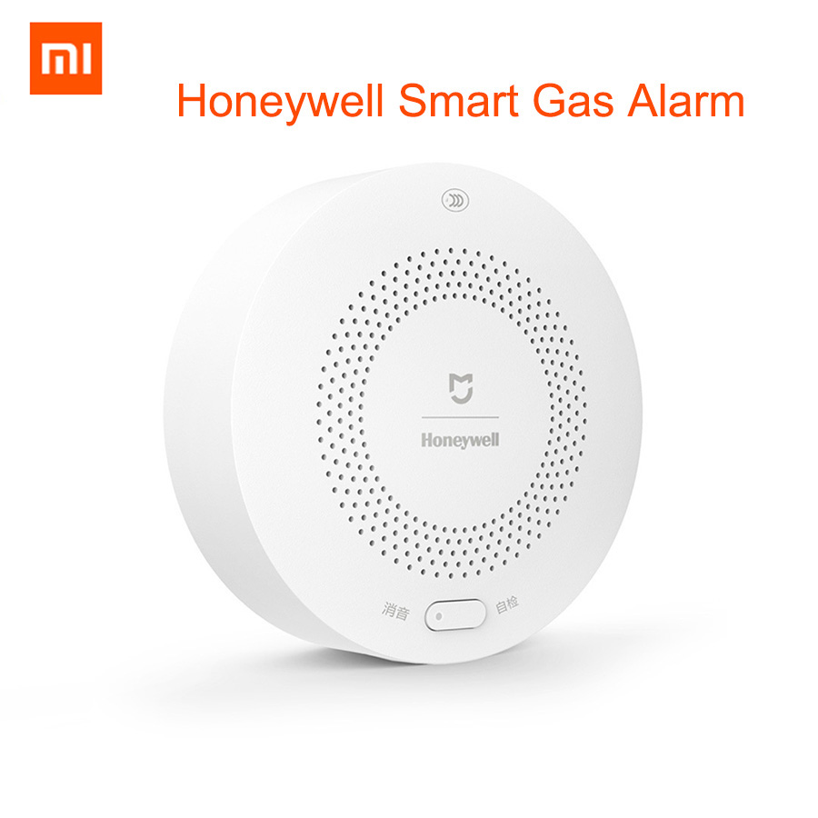 Xiaomi Mijia Honeywell Smart Gas Alarm Detector CH4 Gas Monitoring Ceiling Wall Mounted Mihome APP Remote Control