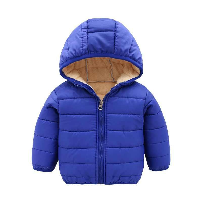bcf8fcc79 Invierno niños niñas niños chaquetas con capucha ropa de niños abrigos bebé  ropa de abrigo ropa