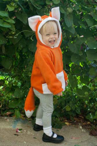 Para recién nacidos, niños, bebés, bebés, niñas ropa de algodón zorro lindo abrigo de orejas abrigos con capucha chaqueta invierno nuevo
