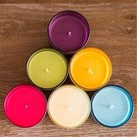 장식 촛불 향기 아로마 벨라 드 세라 웨딩 크리스마스 축하 장식 양초 왁스 전원 QQZ247