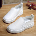 Kids White Shoes 2017 Spring Boys Genuine Leather Shoes Girls Shoes Kids Boys Sneakers Children Trainers Girls School Shoes