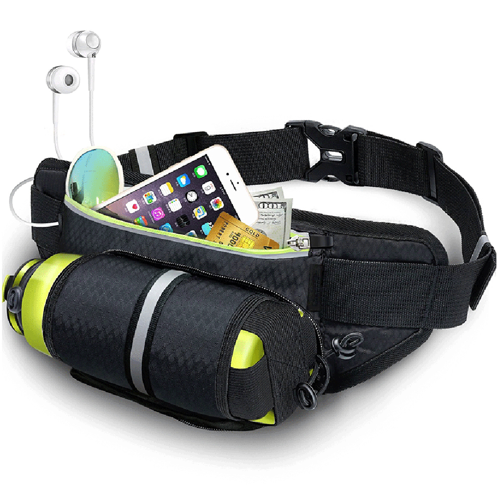 Fitness Sport Accessories Trail Running Bag Mobile Belt Marathon Women Mens Sports Wallet Bags Waist Bottle Bag 7