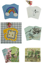 20 stücke Kaffee shop glas decor Floral vogel Serviette Arabisch Braut bräutigam Schmetterling Bee regenbogen serviette papier tissue Hochzeit party(China)