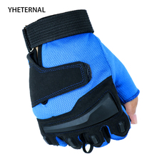 YHETERNAL New Sport Fitness Gloves Gym Gloves Exercise Male Gloves Fashion black Weight Lifting Gloves Riding Tactical Luvas