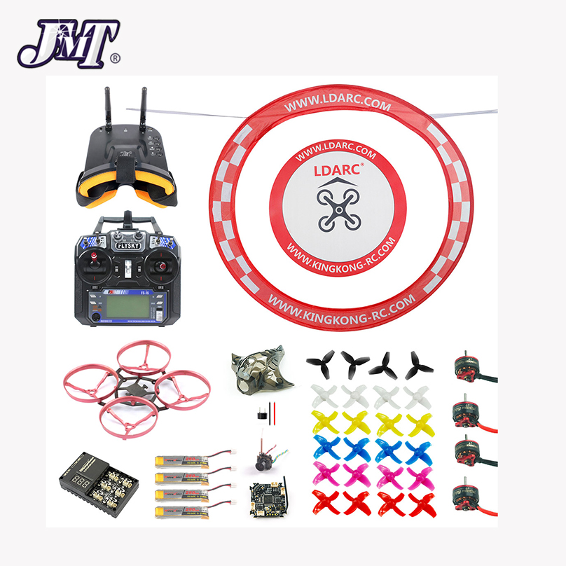 JMT 75MM Brushless Metal Frame FPV Racing Drone RTF With Crazybee F3 Pro Flysky RC FPV