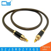 Noble Quality Digital Optical Audio Cable Fiber Optic Cable OD8 0mm Toslink Male To Toslink Male