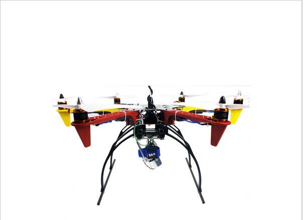 6-Axle RC Aircraft Helicopter RTF Drone with AT10 Remote Control 550 Frame APM2.8 Flight Controller Aerial FPV PTZ UFO F05114-AP