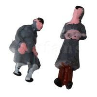 Mxfans Boutique1: 150 Échelle N Gauge Peint À La Main Mise Modèle Gens Figure